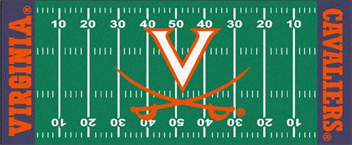 Virginia Cavaliers Football Field Runner Mat