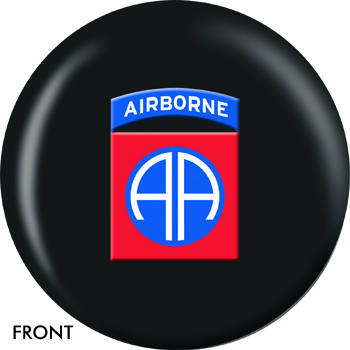 Army 82nd Airborne Bowling Ball