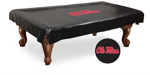 Ole Miss Large Lettered Pool Table Cover