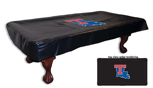 Louisiana Tech Bulldogs Pool Table Cover