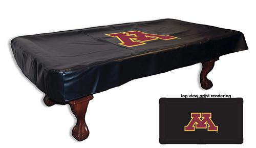 Minnesota Golden Gophers Pool Table Cover