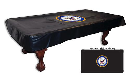 Navy Pool Table Cover