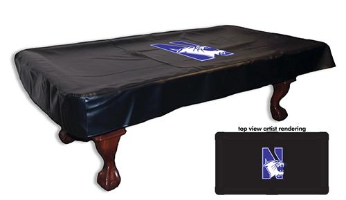 Northwestern Wildcats Pool Table Cover