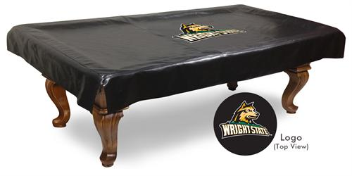 Wright State Raiders Pool Table Cover