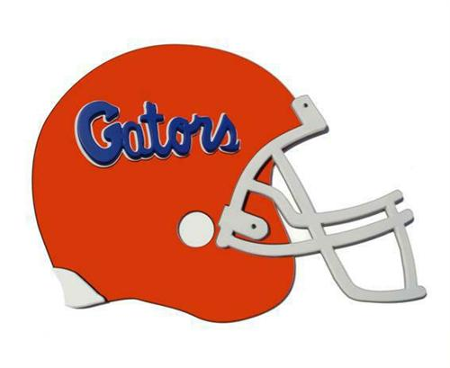 Florida Gators Giant Helmet Art