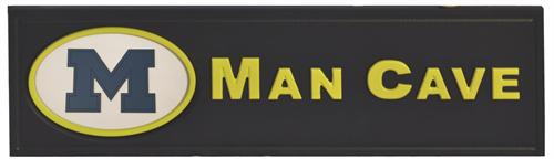 Michigan Wolverines Man Cave Sign