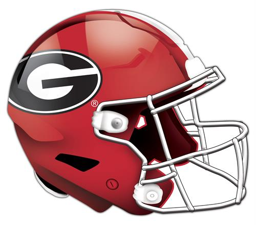 Georgia Bulldogs 24 Inch Authentic Wall Helmet