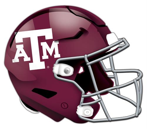Texas A&M Aggies 24 Inch Authentic Wall Helmet