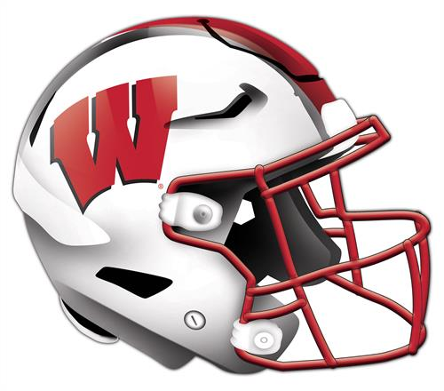 Wisconsin Badgers 24 Inch Authentic Wall Helmet