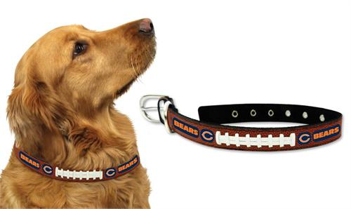 Chicago Bears Football Lace Dog Collar