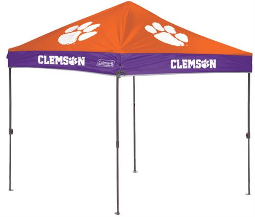 Clemson Tigers 10x10 Straight Leg Canopy Shelter