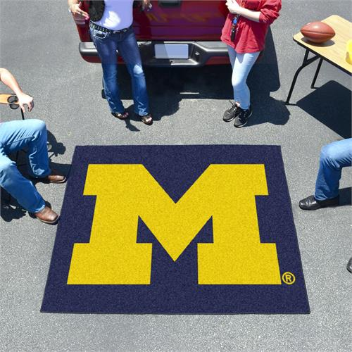 Michigan Wolverines Tailgater Mat - 5' x 6'