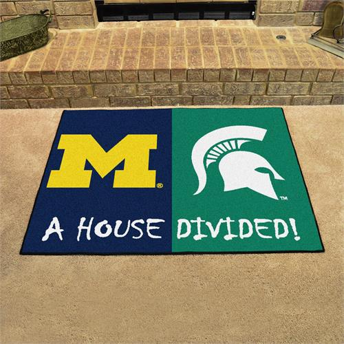 Michigan-Michigan State House Divided Mat