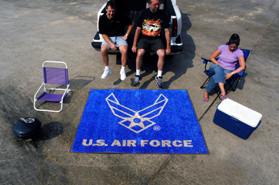 Air Force Tailgater Mat - 5' x 6'
