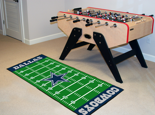 Dallas Cowboys Football Field Runner Mat