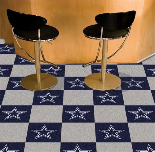 Dallas Cowboys Carpet Tiles