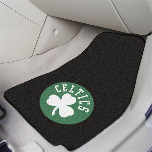 Boston Celtics Carpet Car Mats