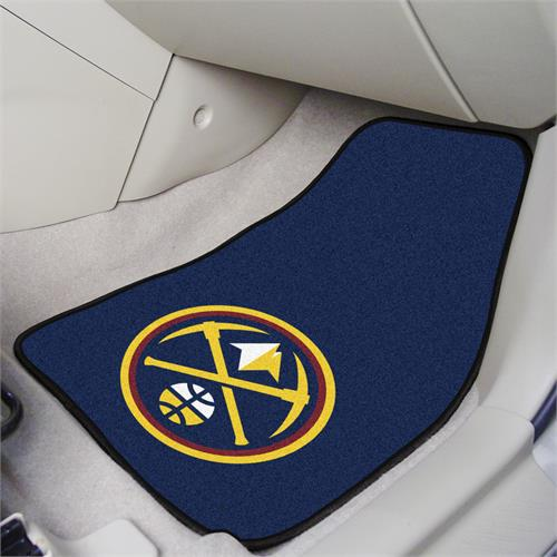 Denver Nuggets Carpet Car Mats