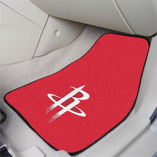 Houston Rockets Carpet Car Mats