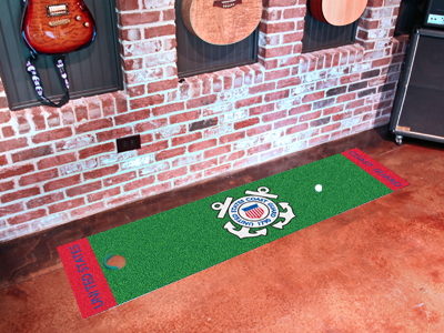 U.S. Coast Guard Putting Green Mat