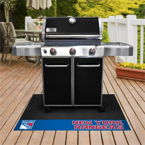 New York Rangers Grill Mat
