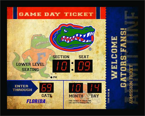 Florida Gators Bluetooth Scoreboard Clock