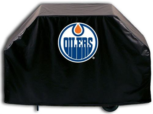 Edmonton Oilers Grill Cover