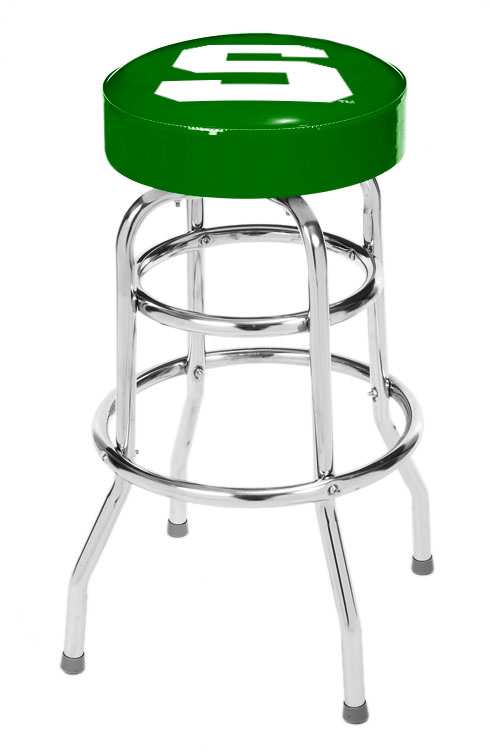Michigan State Spartans Bar Stool