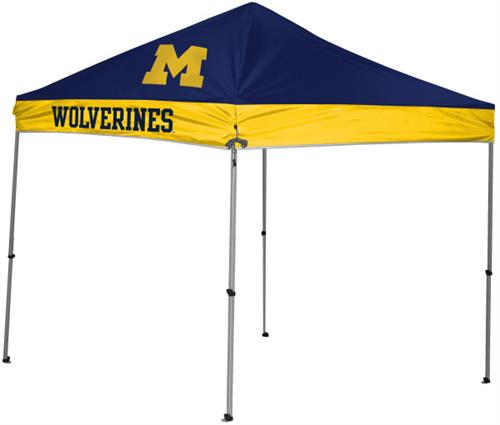 Michigan Wolverines 9x9 Straight Leg Canopy Shelter