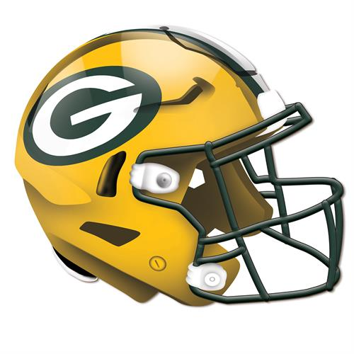 Green Bay Packers 24 Inch Authentic Wall Helmet