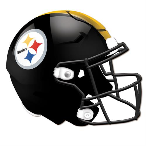 Pittsburgh Steelers 24 Inch Authentic Wall Helmet
