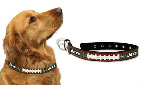 New York Jets Football Lace Dog Collar