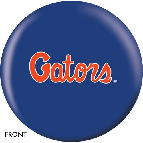 Florida Gators Bowling Ball Front View