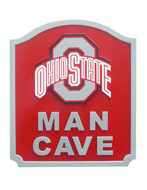 Ohio State Buckeyes Man Cave Shield