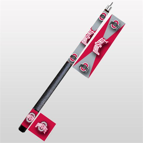 Ohio State Buckeyes Pool Cue Stick