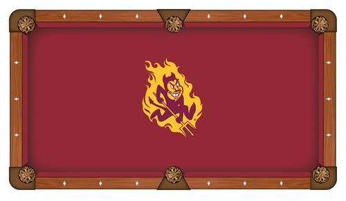 Arizona State Sun Devils Pool Table Cloth