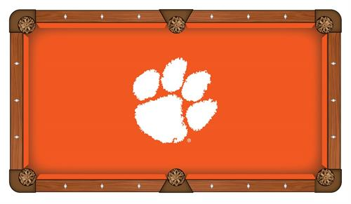 Clemson Tigers Pool Table Cloth