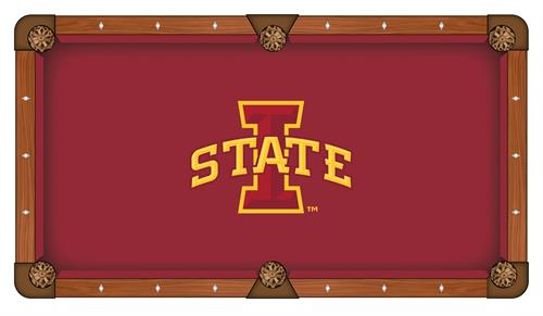 Iowa State Cyclones Pool Table Cloth