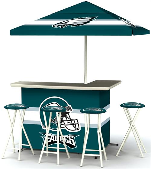 Philadelphia Eagles Deluxe Portable Tailgate Bar Set