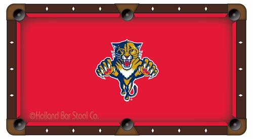 Florida Panthers Pool Table Cloth