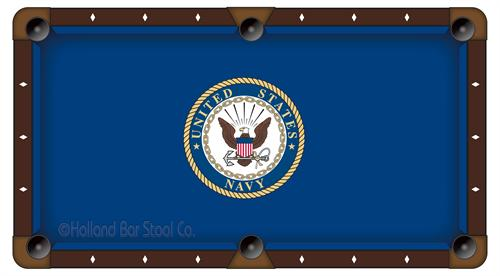 Navy Pool Table Cloth