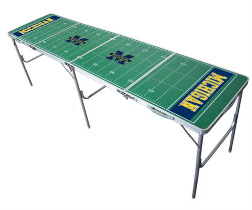 Michigan Wolverines 2'x8' Tailgate Table