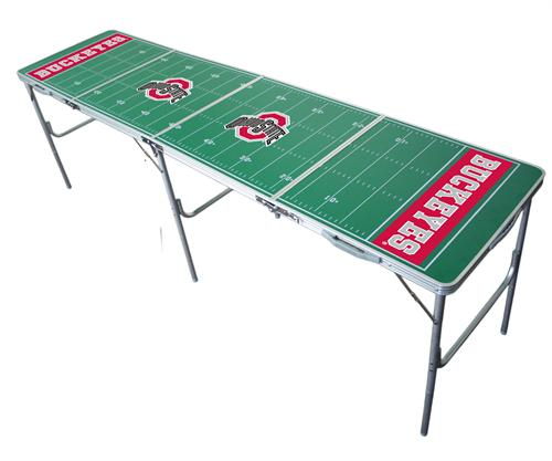 Ohio State Buckeyes 2'x8' Tailgate Table
