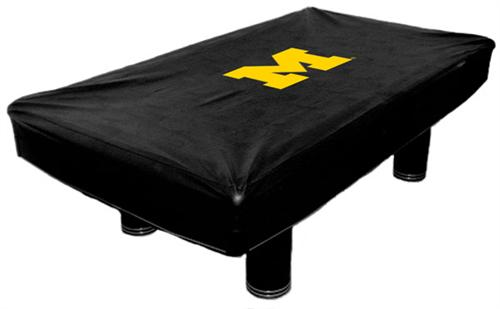 Michigan Wolverines Pool Table Cover