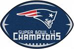 New England Patriots Super Bowl LI Champions Football Mat