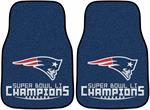 New England Patriots Super Bowl LI Champions Medallion Door Mat