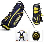Michigan Wolverines Fairway Stand Golf Bag