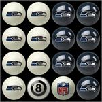 Seattle Seahawks Pool Balls