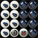 Tennessee Titans Pool Balls