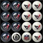Houston Texans Pool Balls